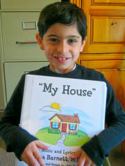 "Student with ""My House"" Music Book"